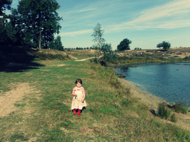Mai near the lake